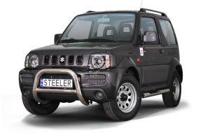 Bullbar delanteros Steeler para Suzuki Jimny 2005-2012 Modelo A
