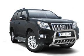 Bullbar delanteros Steeler para Toyota Land Cruiser 150 2010-2013 Modelo G