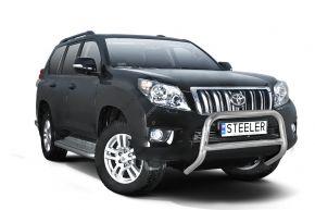 Bullbar delanteros Steeler para Toyota Land Cruiser 150 2010-2013 Modelo A