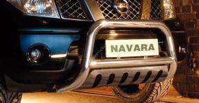 Bullbar delanteros Steeler para Nissan Navara 2010-2015 Modelo S