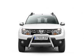 Bullbar delanteros Steeler para Dacia Duster 2010-2014-2018 Modelo A