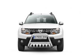 Bullbar delanteros Steeler para Dacia Duster 2010-2014-2018 Modelo S