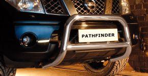 Bullbar delanteros Steeler para Nissan Pathfinder 2005-2010 Modelo A