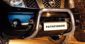 Bullbar delanteros Steeler para Nissan Pathfinder 2005-2010 Modelo U