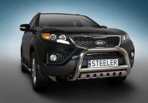 Bullbar delanteros Steeler para Kia Sorento 2010-2012 Modelo S