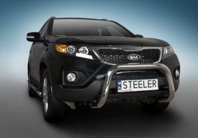 Bullbar delanteros Steeler para Kia Sorento 2010-2012 Modelo U