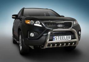 Bullbar delanteros Steeler para Kia Sorento 2010-2012 Modelo G