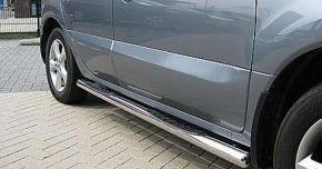 Marcos laterales de acero inoxidable para Kia Sportage