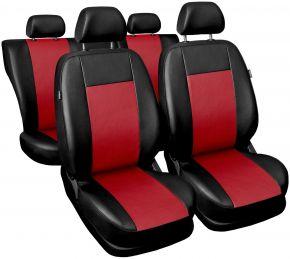 Fundas de asiento universales Comfort rojo