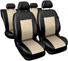 Fundas de asiento universales Comfort beige