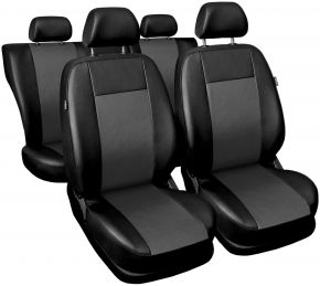 Fundas de asiento universales Comfort gris
