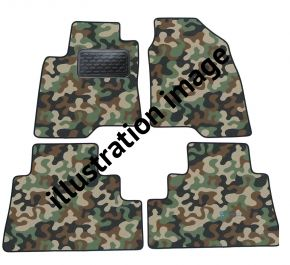 Army car mats Audi A8 D3  2004-up 4ks