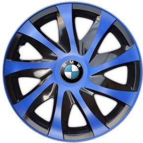"Tapacubos para BMW 14"", DRACO AZUL 4 pzs"