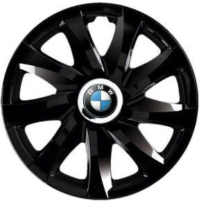 "Tapacubos para BMW 13"", DRIFT NEGRO LACADO 4 pzs"