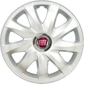 "Tapacubos para FIAT 16"", DRIFT GRIS LACADO 4 pzs"