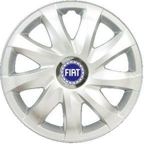 """Tapacubos para FIAT BLUE 15"""", DRIFT GRIS LACADO 4 pzs"""