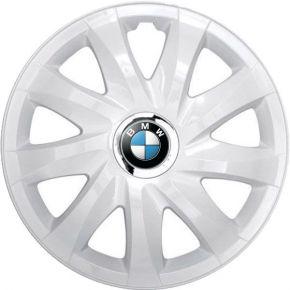 "Tapacubos para BMW 14"", DRIFT BLANCO LACADO 4 pzs"