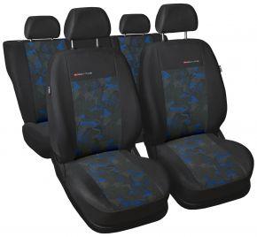 Fundas de asiento universales Elegance azul