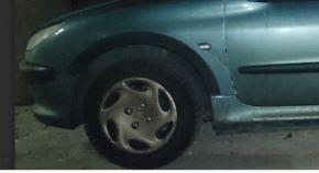 Protector plástico paso de rueda para PEUGEOT 206 COMBI 1998-2012
