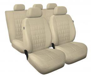 Fundas de asiento universales MODERN beige, MG-3