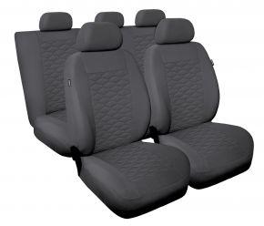 Fundas de asiento universales MODERN gris, MP-2