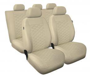Fundas de asiento universales MODERN beige, MP-3