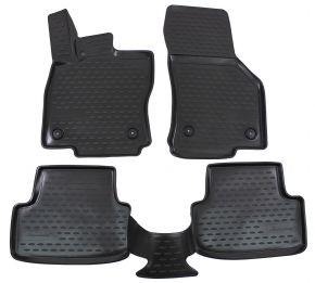 Alfombrillas de goma AUDI A3 (8V) 2012-up Htb  4 piezas