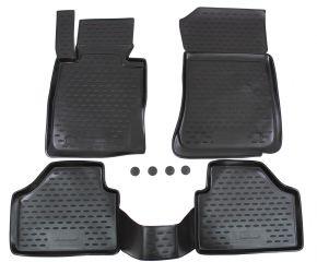 Alfombrillas de goma BMW X1 E84  2009-2015 4 piezas