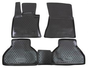 Alfombrillas de goma BMW X5 E70 2007-2012  4 piezas