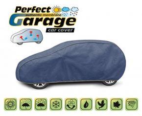 Funda protectora de membrana suave para todo el automóvil PERFECT GARAGE hatchback Lada Kalina 380-405 cm