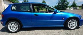 Protector plástico paso de rueda para HONDA CIVIC V 3-PUERTAS 1991-1996