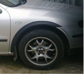 Protector plástico paso de rueda para SEAT LEON I HATCHBACK 1999-2005