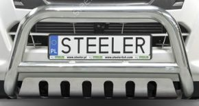 Bullbar delanteros Steeler para OPEL VIVARO 2001-2014 Modelo S