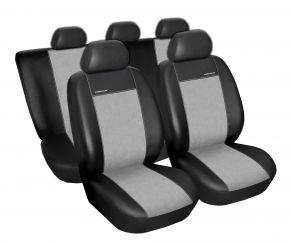 Fundas de asiento universales PREMIUM gris, tamaño A