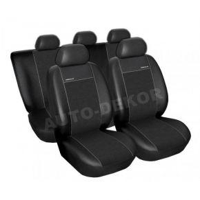 Fundas de asiento universales PREMIUM negro, tamaño A