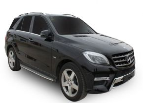 Barras de paso lateral para Mercedes Benz ML W-166 OE Style 2012-