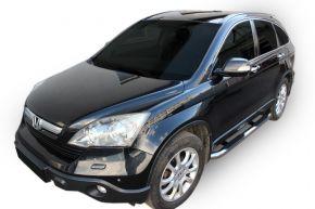 Marcos laterales de acero inoxidable para Honda CR-V 2006-2012