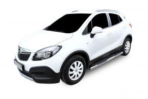 Marcos laterales de acero inoxidable para Opel Mokka 2012-up