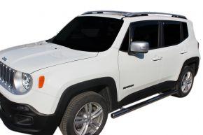 Marcos laterales de acero inoxidable para Jeep Renegade 2014-up