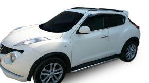 Marcos laterales de acero inoxidable para Nissan Juke 2010-2014 / 2014-2019 60,3 mm