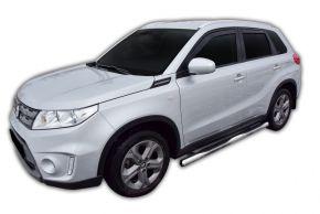 Marcos laterales de acero inoxidable para Suzuki Vitara 2015-up