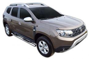 Marcos laterales de acero inoxidable para Dacia Duster 2 2018-up