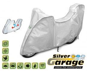 Funda para moto SILVER GARAGE 215-240 cm + maletero