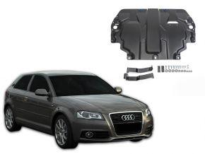 Protectores  de motor y caja de cambios Audi A3 8P se adapta todos motores 2003-2012