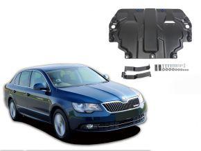 Protectores  de motor y caja de cambios Skoda  Superb 1,4; 1,8; 2,0; 3,6 2008-2014