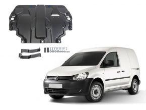 Protectores  de motor y caja de cambios Volkswagen  Caddy IV se adapta todos motores (w/o heating system) 2015-