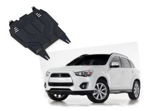 Protectores  de motor y caja de cambios Mitsubishi ASX 1,6; 1,8; 2,0 2010-2018