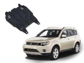 Protectores  de motor y caja de cambios Mitsubishi Outlander  2,0; 2,4 2007-2012
