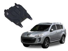 Protectores  de motor y caja de cambios Peugeot  4007 2,2; 2,4 2007-2012