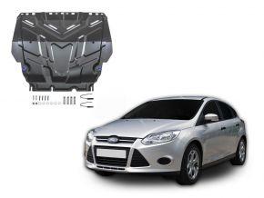 Protectores  de motor y caja de cambios Ford  Focus III se adapta todos motores 2011-2018